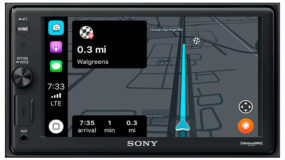 Navigation on a Sony Multimedia Head Unit
